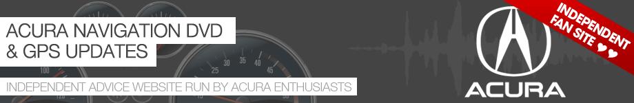 Acura MDX Navigation DVD Update 2018 | Navigation System