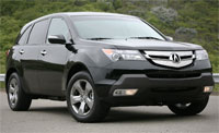 The Acura MDX SUV - GPS Map Updates